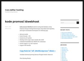 caradaftarhosting.com