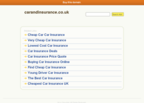 carandinsurance.co.uk