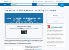 caratterispecialihtml.com