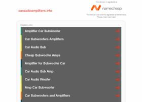 caraudioamplifiers.info