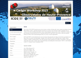 carbonws2015.sciencesconf.org