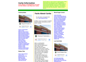 carbs-information.com