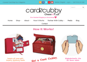 cardcubby.com