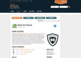 cardozo.lawschoolnumbers.com