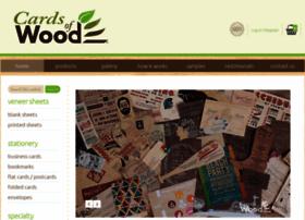 cardsofwood.com