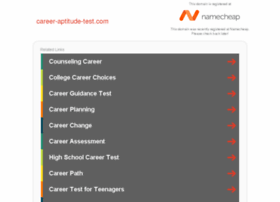 career-aptitude-test.com