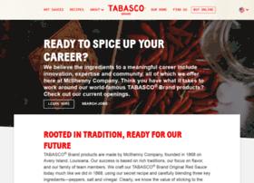 career.tabasco.com