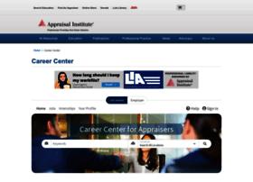 careercenter.appraisalinstitute.org