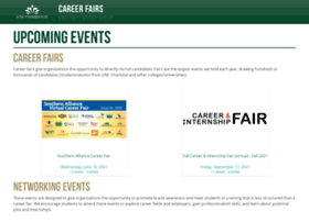 careerfairs.uncc.edu