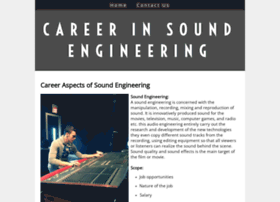 careerinsoundengineering.yolasite.com