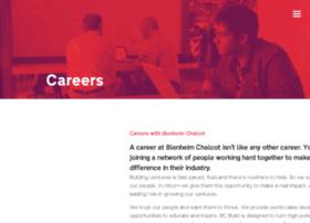 careers.blenheimchalcot.com