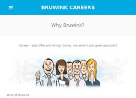 careers.bruwink.in