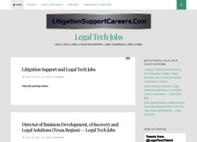 careers.litigationsupportcareers.com