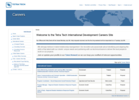 careers.tetratechintdev.com