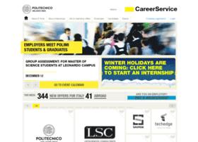 careerservice.polimi.it