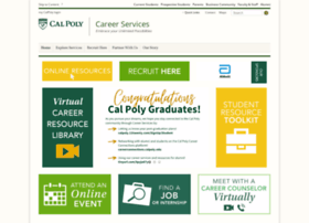 careerservices.calpoly.edu