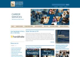 careerservices.gwu.edu