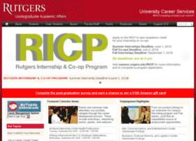 careerservices.rutgers.edu