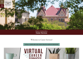 careerservices.txstate.edu