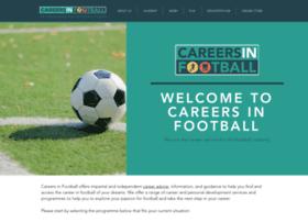 careersinfootball.com