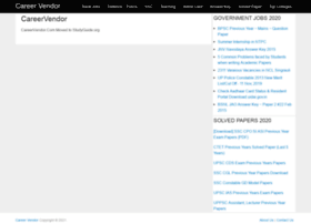 careervendor.com