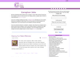 caregiver-jobs.org