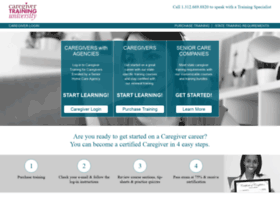 caregivertraininguniversity.com