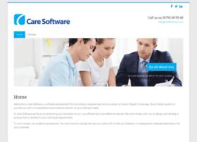 caresoftware.co.uk