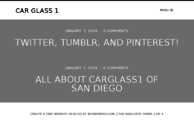 carglass1.wordpress.com