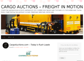cargoauctions.wordpress.com