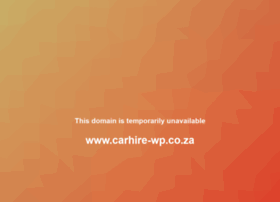 carhire-wp.co.za