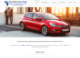 carhirecapetown.com