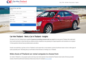 carhirethailand.co.uk