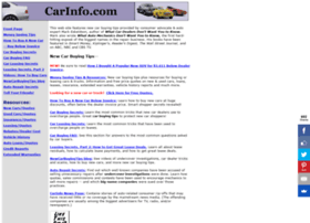 carinfo.com