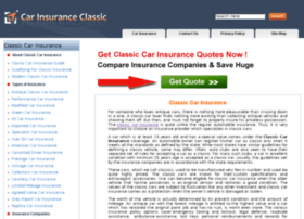 carinsuranceclassic.co.uk