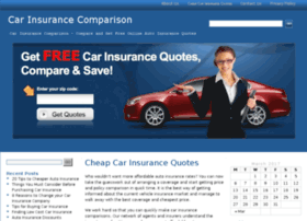 carinsurancecomparison2u.com