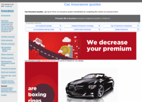 carinsurancequotes.co.za