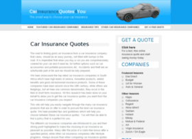 carinsurancequotes4you.co.za