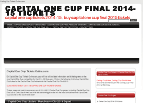 Carlingcupticketsonline.com