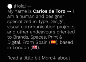 carlosdetoro.com