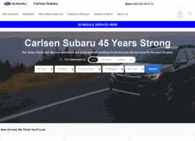 carlsensubaru.com