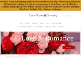 carlsflowerswestkelowna.com