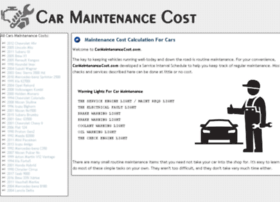 carmaintenancecost.com