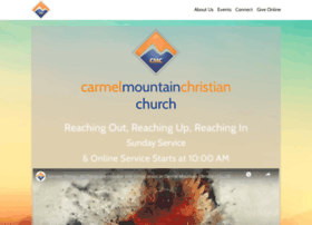 carmelmountainchurch.com