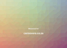 carmovers.co.za