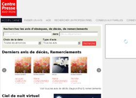 carnet.centrepresseaveyron.fr