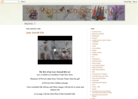 Ribbon Embroidery - Free Cross Stitch Patterns and Lessons from