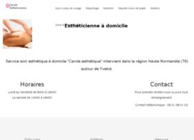 carole-estheticienne.com