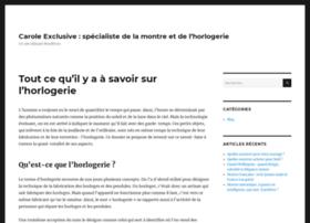 carolexclusivemontres.fr