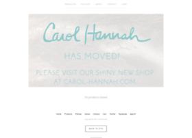 Carolhannah.bigcartel.com
